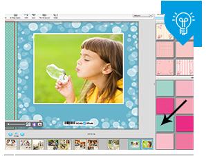 מומלץ לנסות ולהתאים את הצבעוניות של הרקע והמדבקות לצבעוניות שבתמונה.