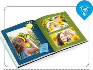 על מנת לייצר מראה תואם בעל תחושה של המשכיות הקדישו מחשבה לסידור התמונות בעמודים השונים